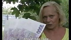 Mature money public porn