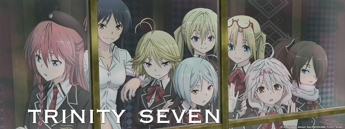 Trinity seven uncensored