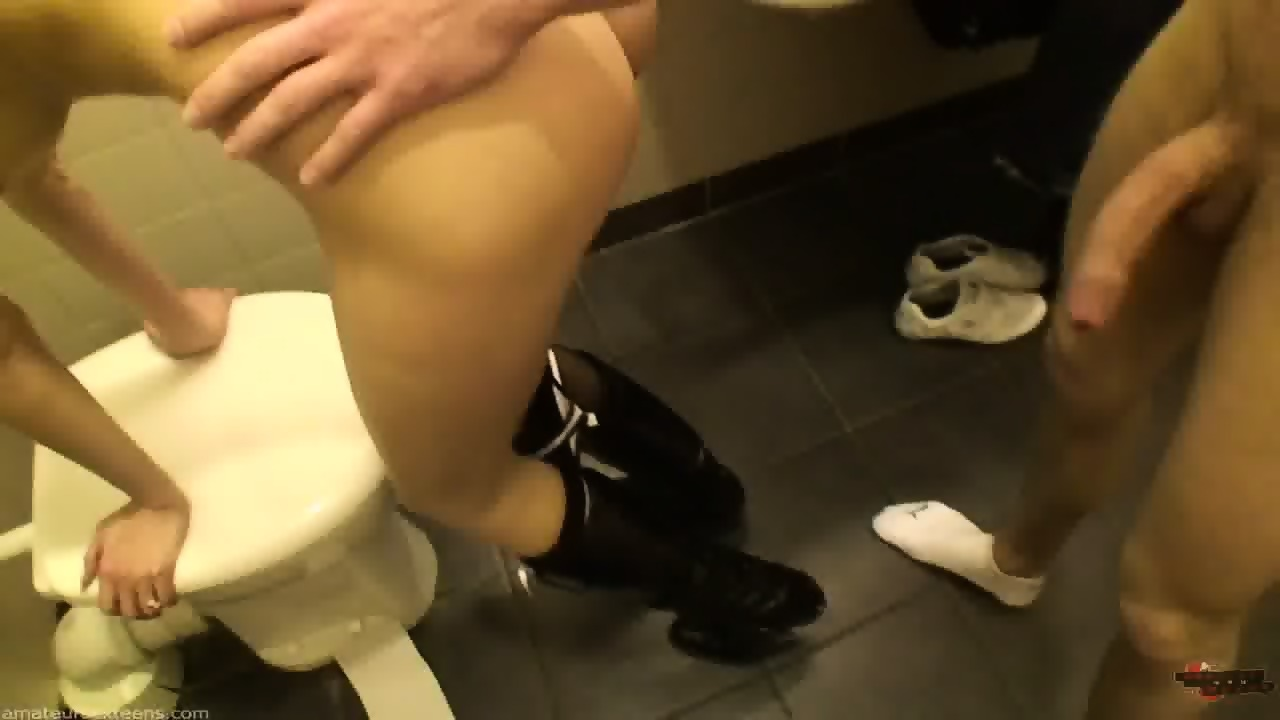 Fucking in the malls bathroom