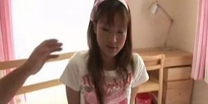 Japanese teen shaved fucked and cream pie