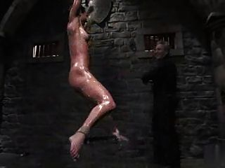Bondage legend wenona in predicament bondage sweaty with blac tmb