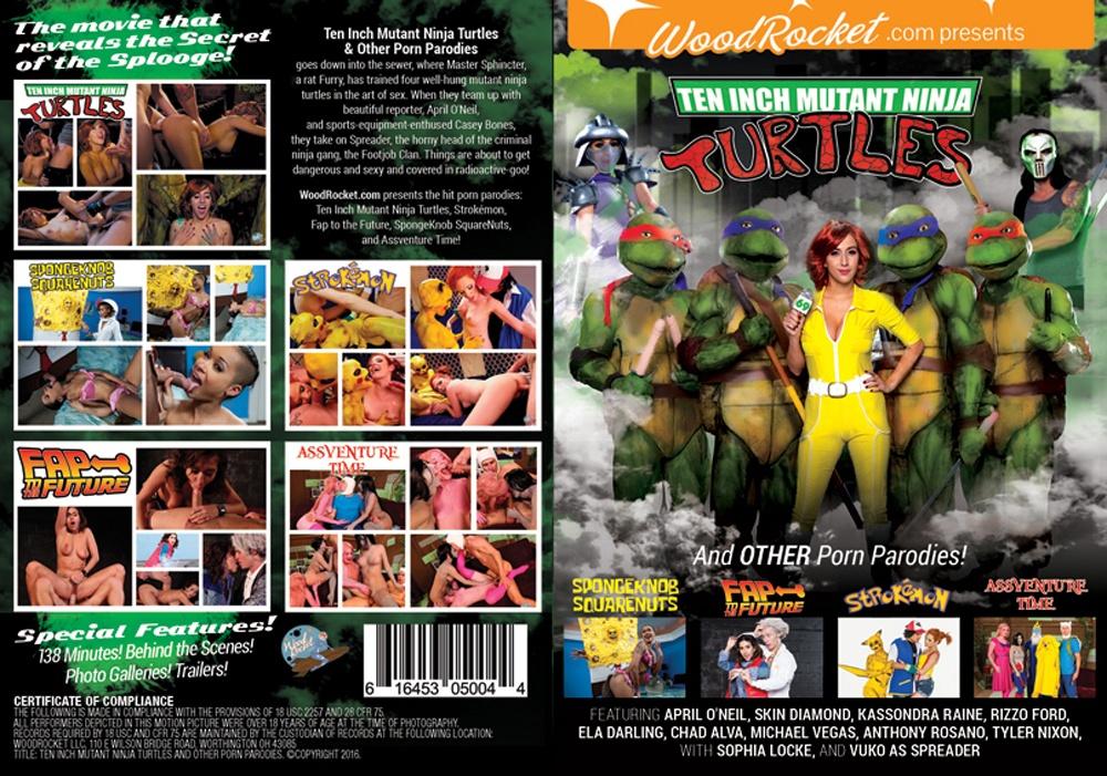 Teenage mutant ninja turtles xxx parody