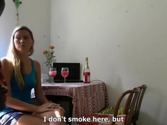 Mature czech blonde in amateur pov free sex video