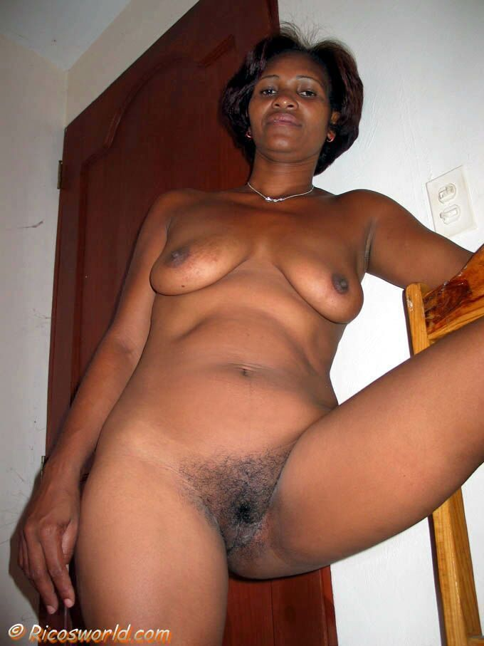 Mature hairy black pussy