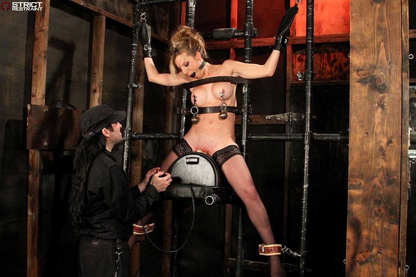 Babe today strict restraint athena angel realtime bondage