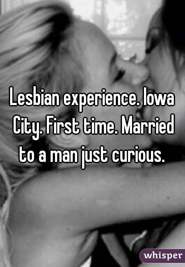 Lesbian first time with man