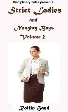 Women spank naughty boys
