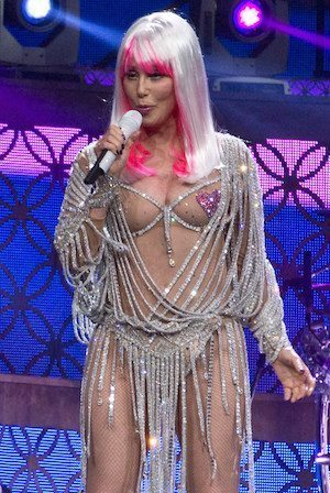 Cher meaty muscle work out