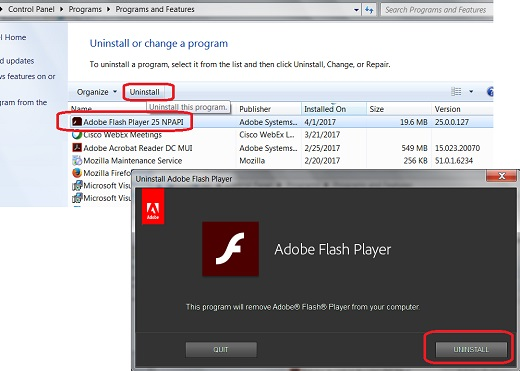 Adobe flash player not working on firefox