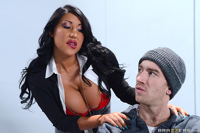Anal fuck big boobs cop