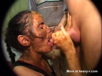 Anal sex with scat face pipi