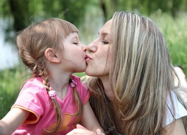 Teen lesbian kiss