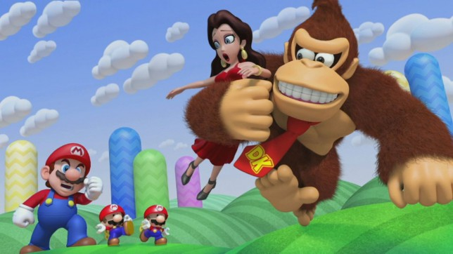 Pauline mario donky kong sex porn pictures images
