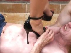 Bbw ebony heels crush porn library