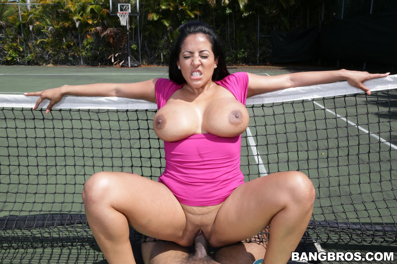 Wild hardcore big natural tits cowgirl position