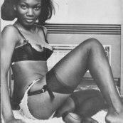 Black ebony vintage porn