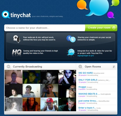 Cam to cam sites like chatroulette