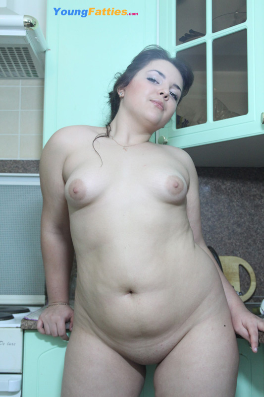 Chubby young naked