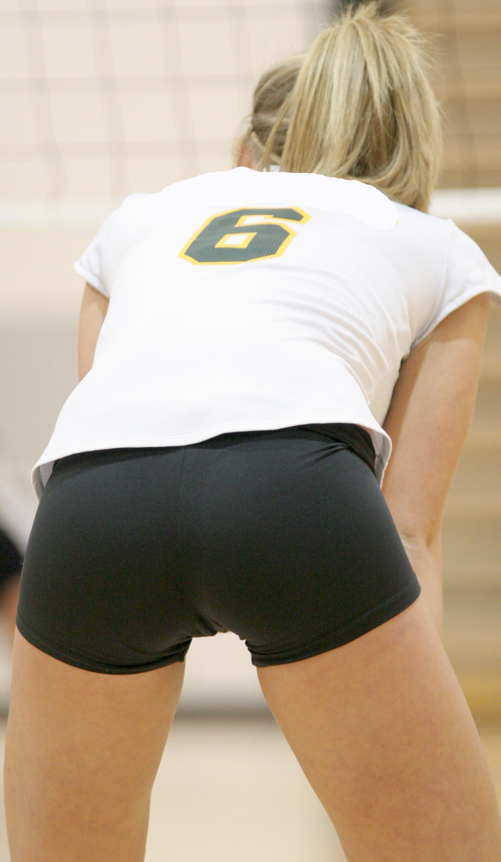College volleyball spandex tube free porn vids