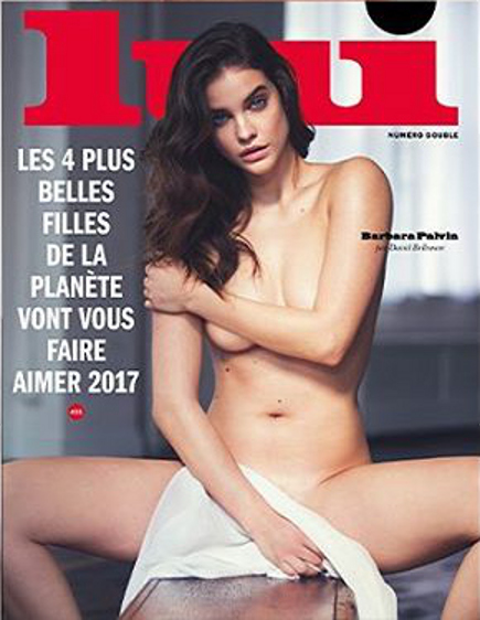 Barbara palvin sexy pictures for lui magazine