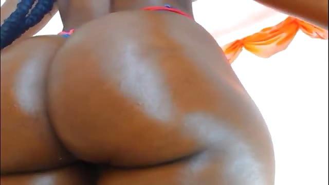 Big beautiful black booty
