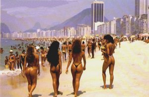 Brazilian girls rio party