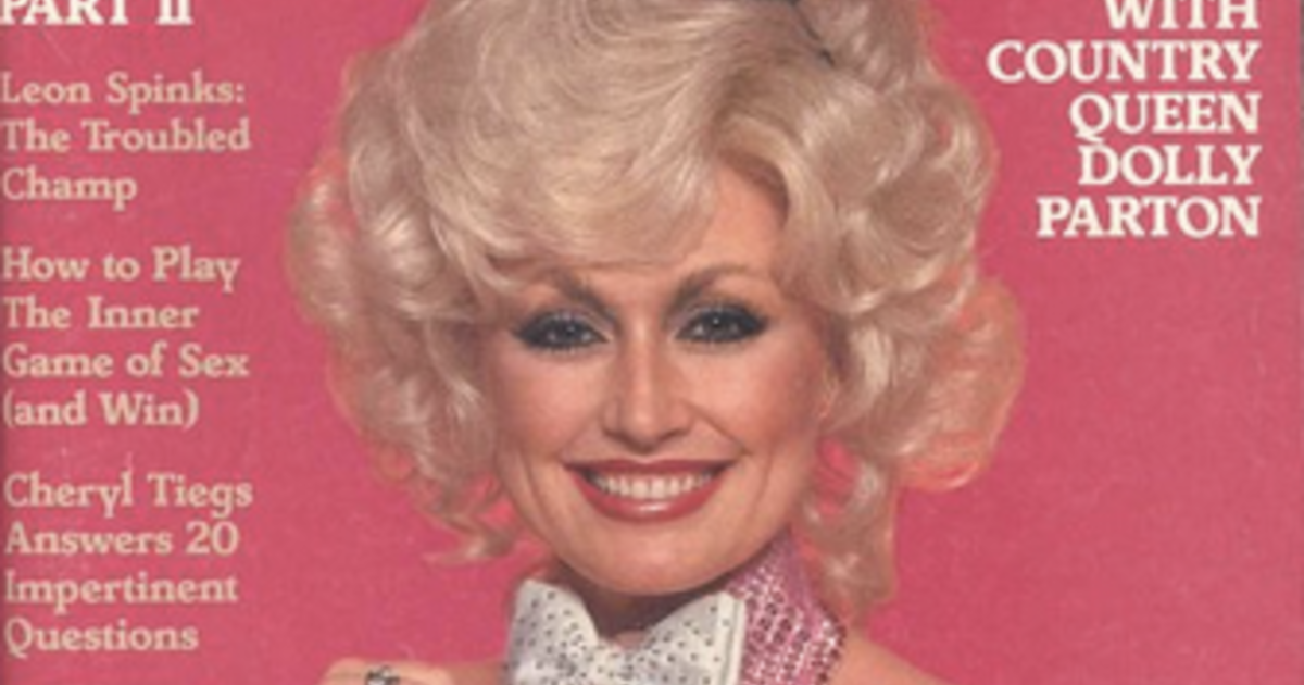 Has dolly parton ever posed naked