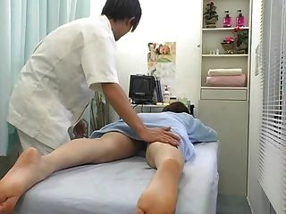 Model seduced during massage free tubes look excite