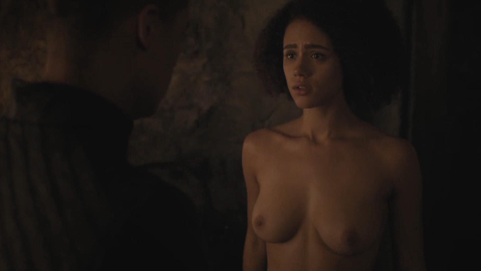 Nathalie emmanuel nude scene in game of thrones