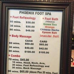 Phoenix foot spa richardson
