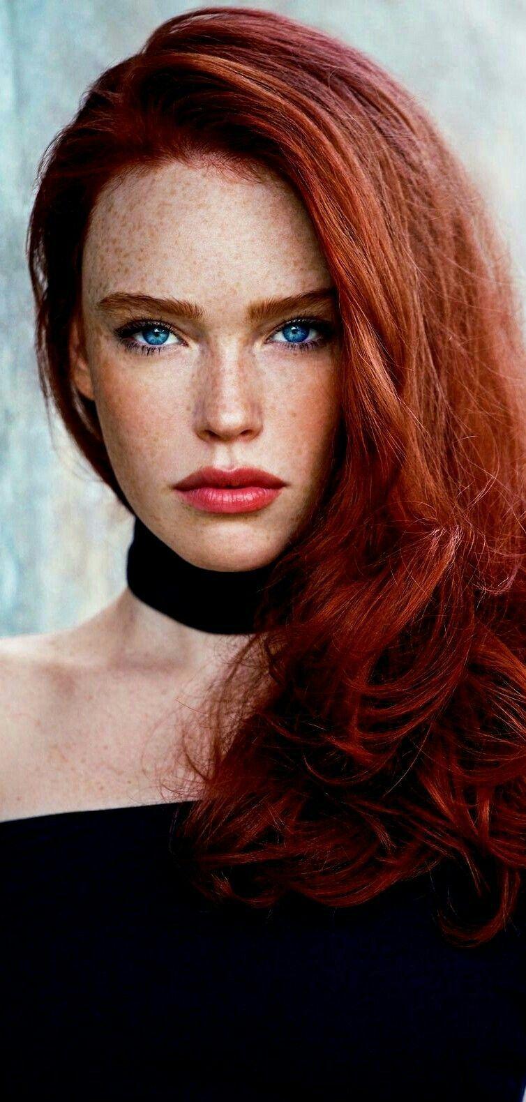 Redhead fashion photograph