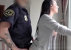 Black girl caught having sex