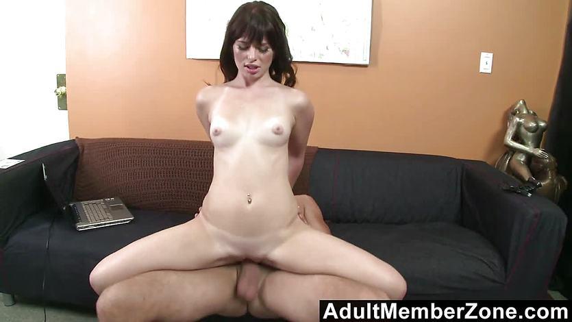 Asian woman having sex