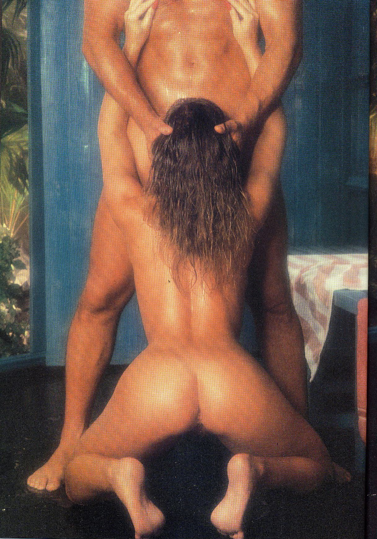 Peeing golden shower