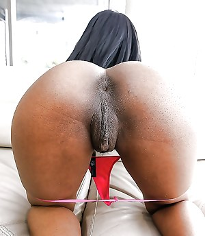 What does black pussy look like
