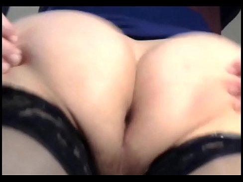 Wild hardcore shemale ass shaking
